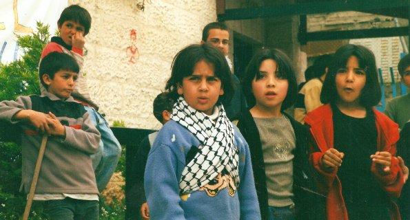 Foto di Valentina Perniciaro _Campo profughi palestinese di Dheishe. Piccoli resistenti crescono_