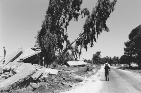 Foto di Valentina Perniciaro _Macerie di vita nelle fertili alture del Golan_