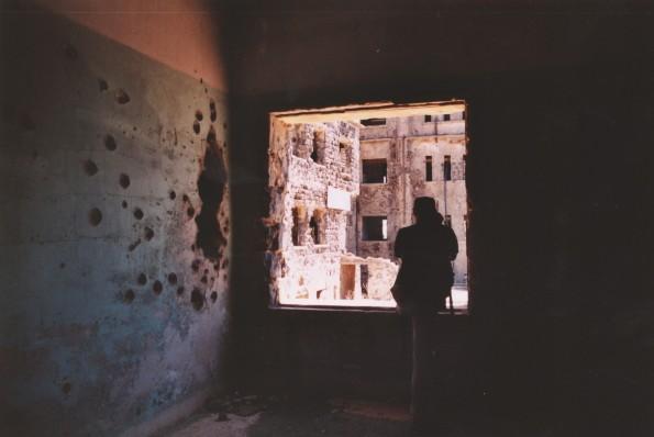 Foto di Valentina Perniciaro _Quel che rimane di un ospedale in una cittadina ormai fantasma del Golan siriano_