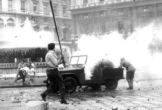 Genova caccia i fascisti, giugno 1960