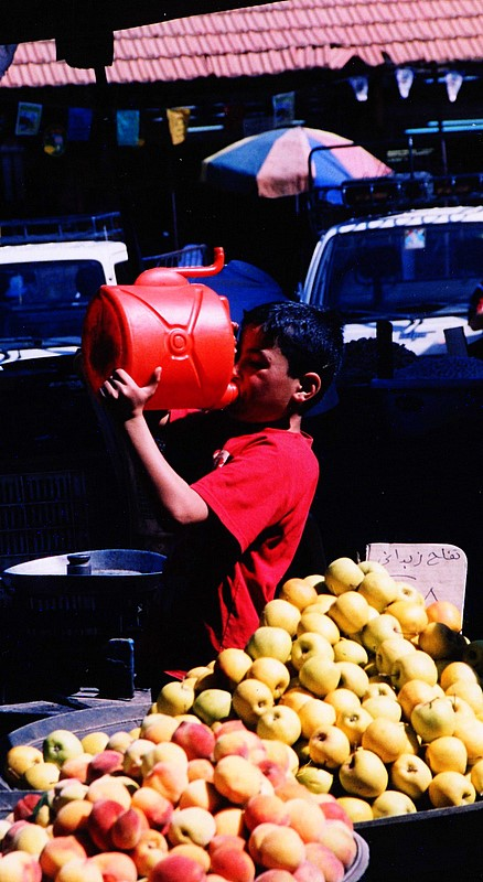 Foto di Valentina Perniciaro.  'Ammara, suq di Damasco