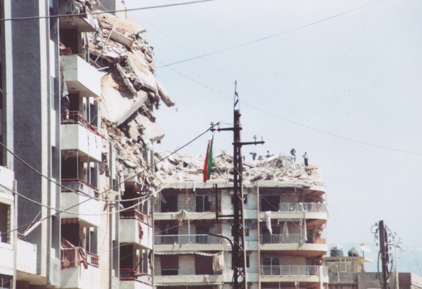 Haret Hreik_Beirut_settembre 2006