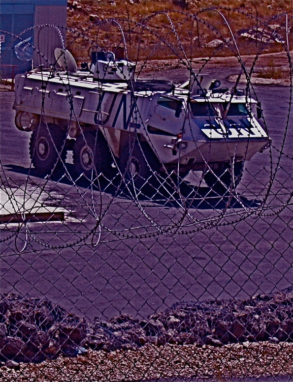 Foto di Valentina Perniciaro _U.N. nel Golan_