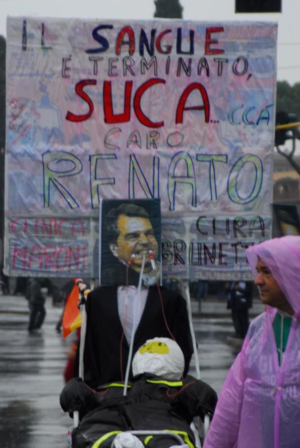 Foto di Valentina Perniciaro _sciopero nazionale Cobas_