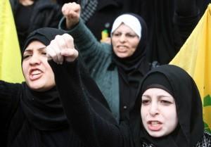 Beirut_manifestazione Hezbollah_