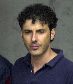 Paolo Persichetti il giorno del 'rapimento'