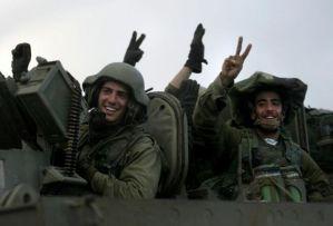 Lo Tsahal durante l'operazione Piombo Fuso
