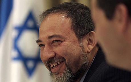 Il neo ministro degli esteri israeliano Avigdor Lieberman
