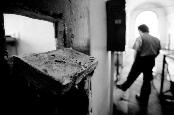 L'interno di Regina Coeli _Foto Archivio Scarceranda_