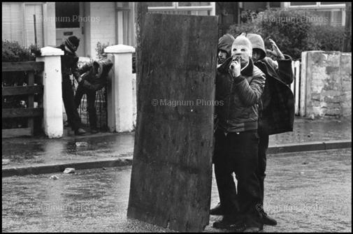 Foto di Peress _Belfast, 1981_