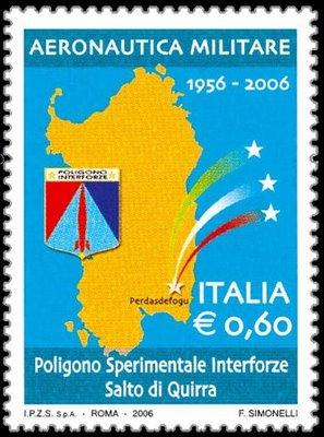 50 anniversario Poligono di Addestramento Interforze Salto di Quirra 13-06-06