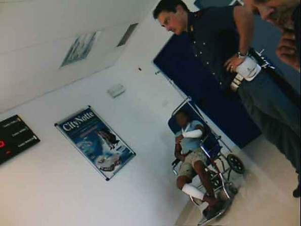ospedale di Goriza, due giorni fa