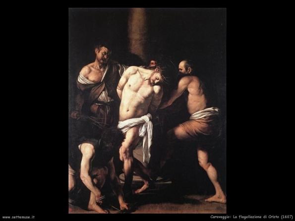 Caravaggio, La flagellazione di Cristo