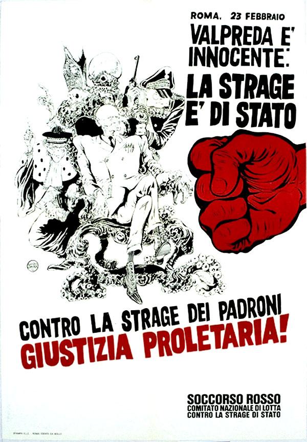 Αποτέλεσμα εικόνας για giustizia proletaria anni 70
