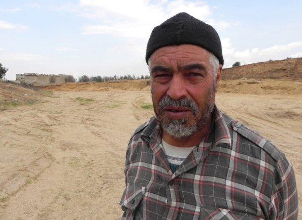 MOHAMMED SHABAN SHAKER KARMOOT mentre rilasciava l'intervista
